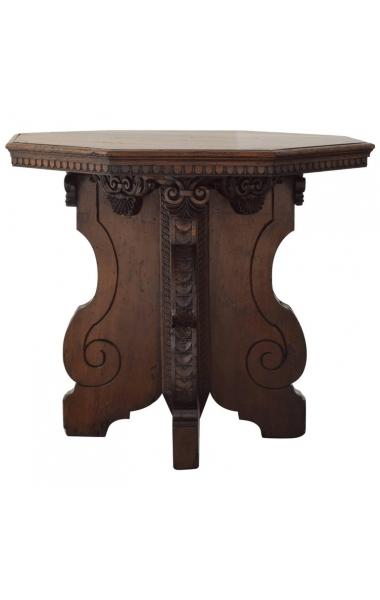 Walnut Octagonal Centre Table