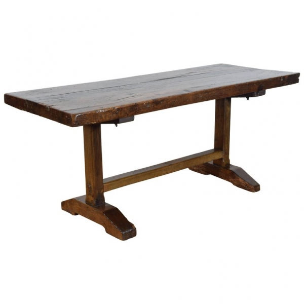 Oak and Chestnut Monastery Table