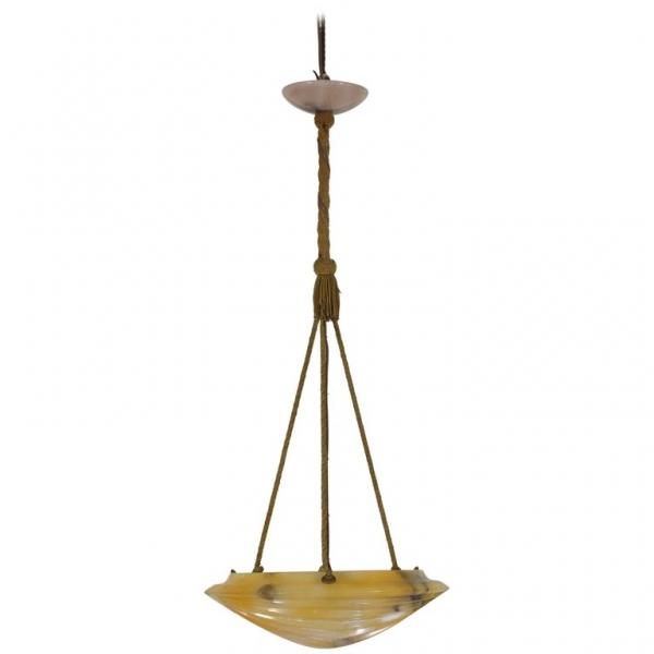 Alabaster Hanging Lantern