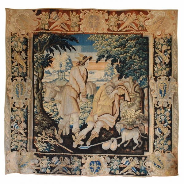 "Tapestry, ""Rescue of the Nymph Io from the Giant Argus"""