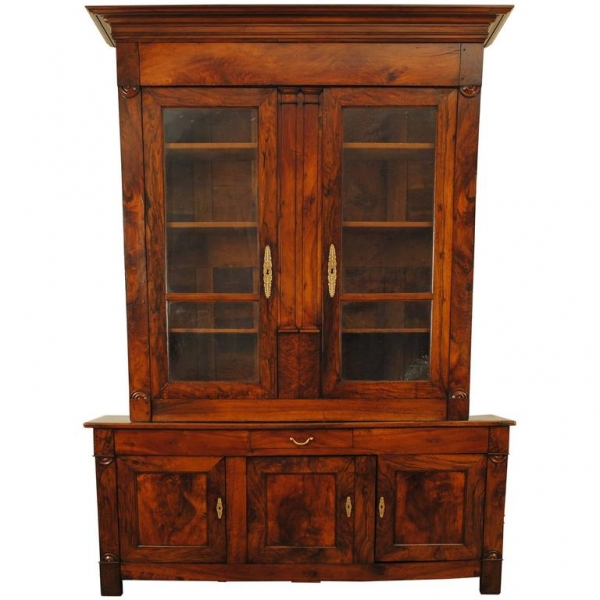 Walnut Bibliotheque