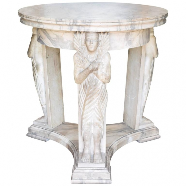 Cipollino Marble Center Table