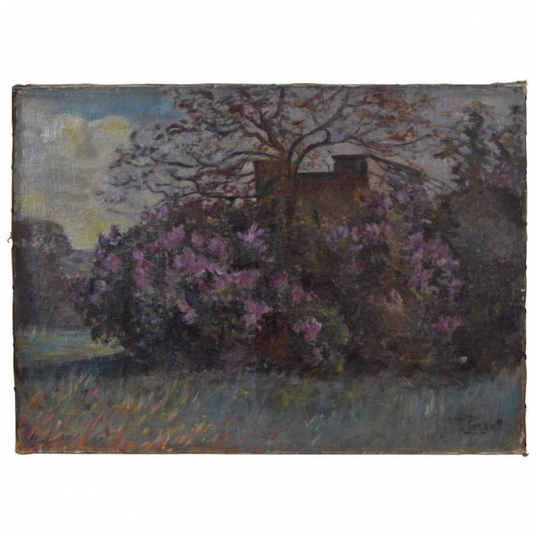 Oil on Canvas, Villa