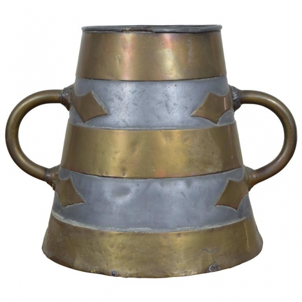 Brass and Pewter Bucket