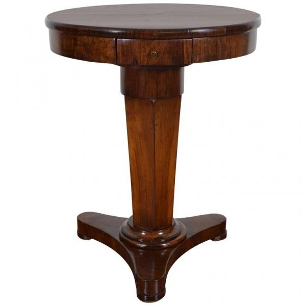Mahogany 1-Drawer Center Table