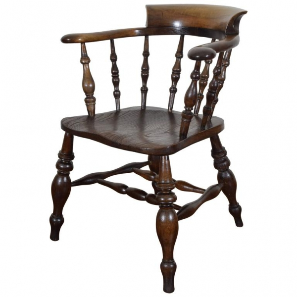 Turned Chestnut Windsor Chair