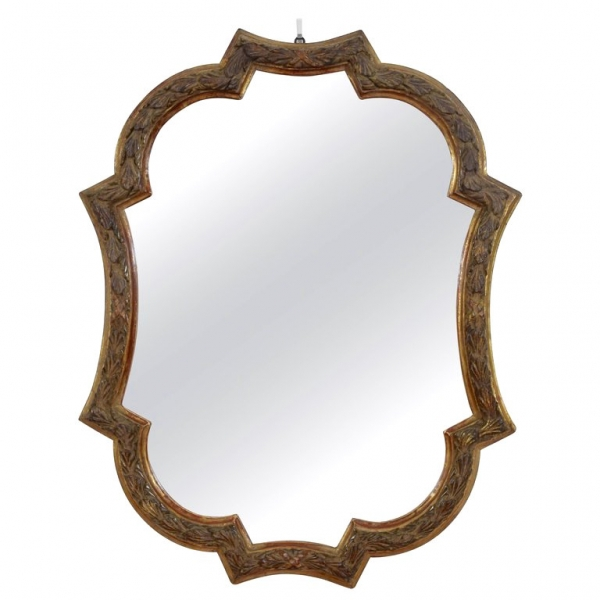 Carved Giltwood Wall Mirror