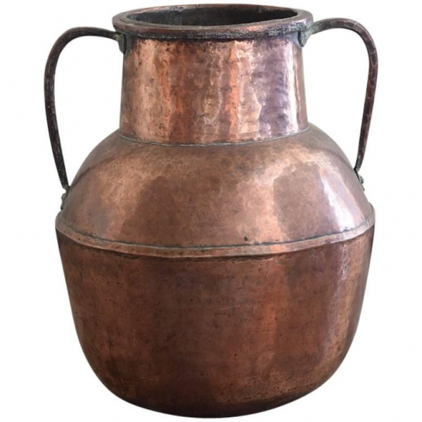 Large Copper Urn or Vase