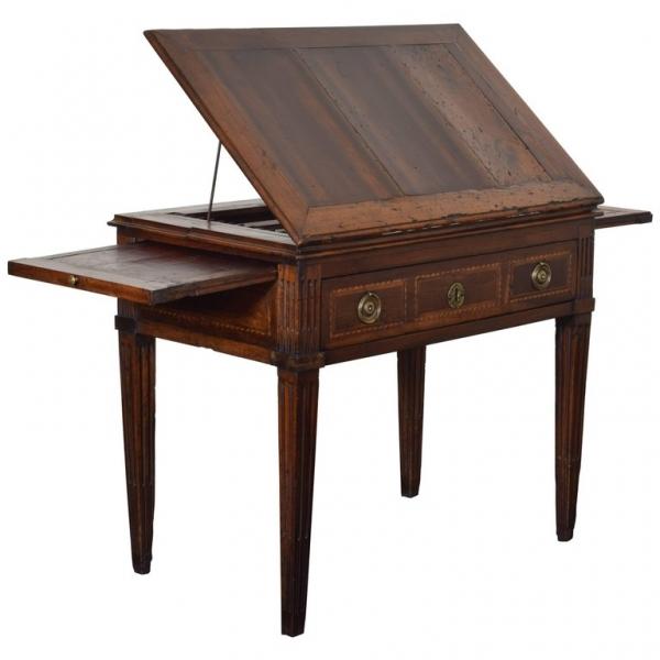 Walnut Metamorphic Drafting Table