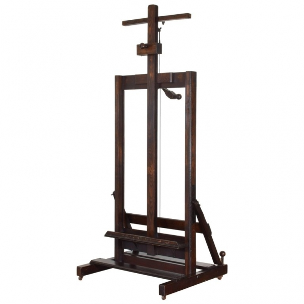 Adjustable Oak Display Easel
