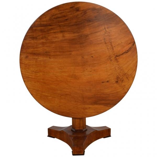 Cherrywood Tilt-Top Center Table