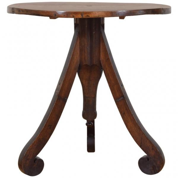 Walnut Tripod Table