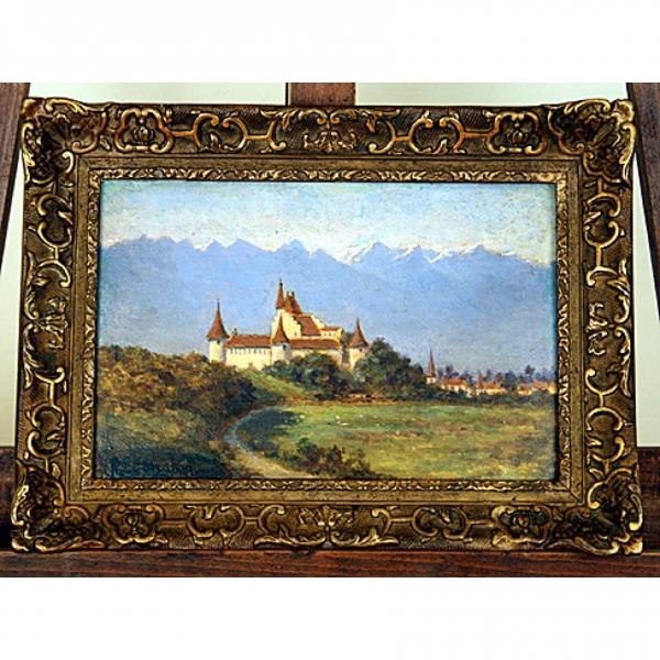 Oil on Wooden Panel