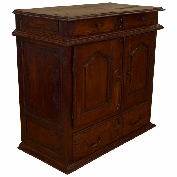 Walnut Buffet Cabinet